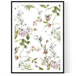 Bouquet Flowers Poster