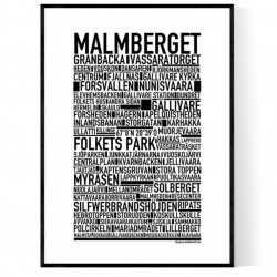 Malmberget Poster