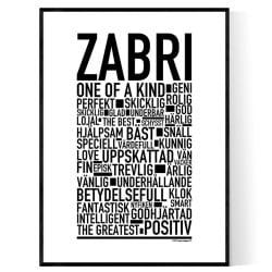 Zabri Poster