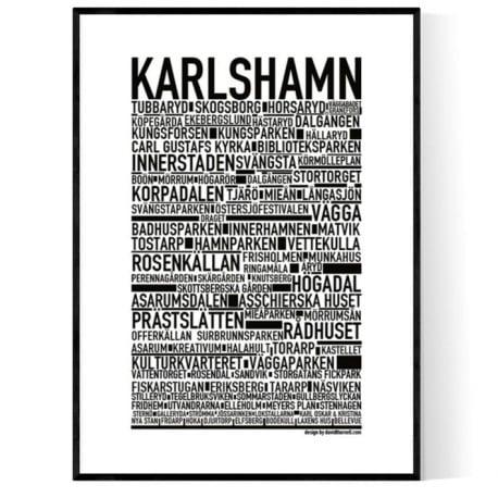 Karlshamn Poster