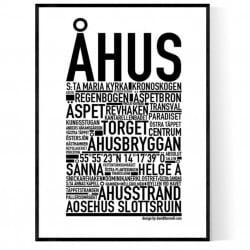Åhus Poster