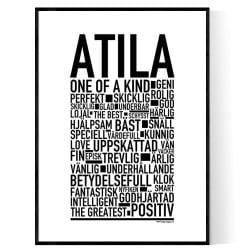 Atila Poster
