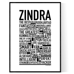 Zindra Poster