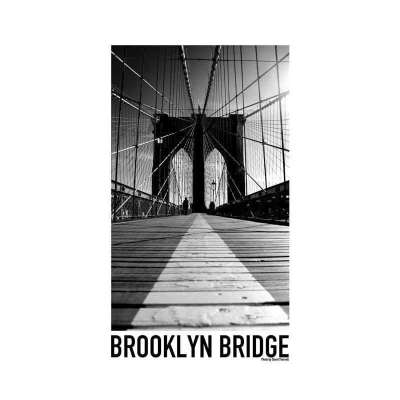 brooklyn bridge poster hitta dina posters online hos wallstars. Black Bedroom Furniture Sets. Home Design Ideas
