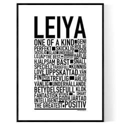 Leiya Poster