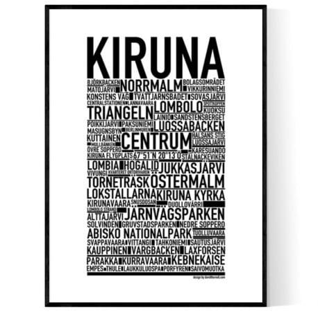 Kiruna Poster