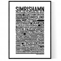 Simrishamn Poster