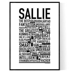 Sallie Poster