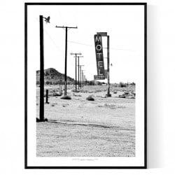 Desert Motel Poster