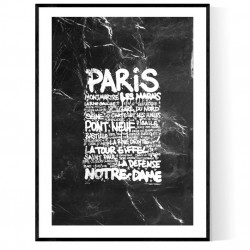 Paris Marble Tags