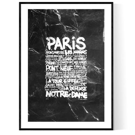 Paris Marble Tags