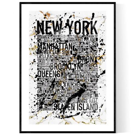 New York White Marble