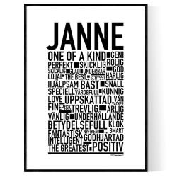 Janne Poster