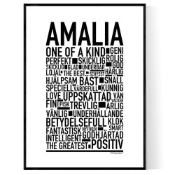 Amalia Poster