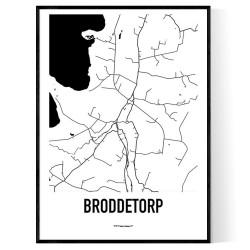 Broddetorp Karta