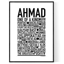 Ahmad Poster
