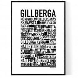 Gillberga Poster