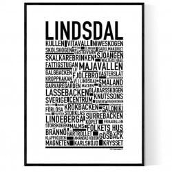Lindsdal Poster