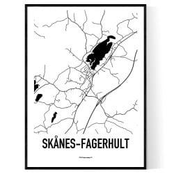 Skånes-Fagerhult Karta