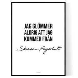 Från Skånes-Fagerhult
