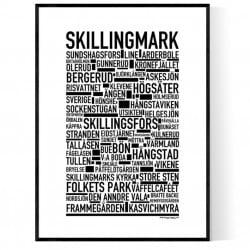 Skillingmark Poster