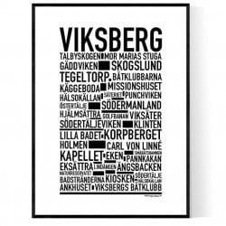 Viksberg Poster