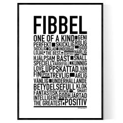 Fibbel Poster