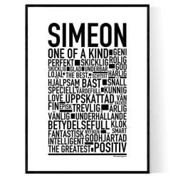 Simeon Poster