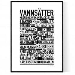 Vannsätter Poster