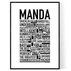 Manda Poster