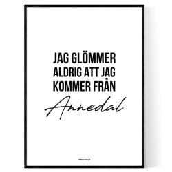 Från Annedal STHLM