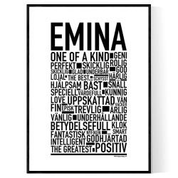 Emina Poster