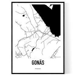 Gonäs Karta