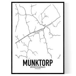 Munktorp Karta