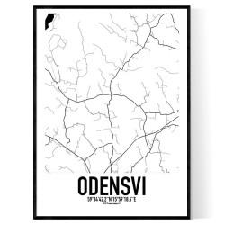 Odensvi Karta