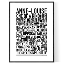 Anne-Louise Poster