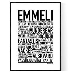 Emmeli Poster