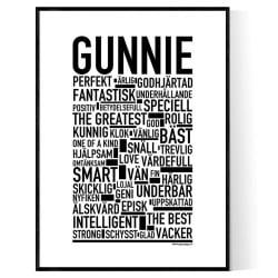 Gunnie Poster