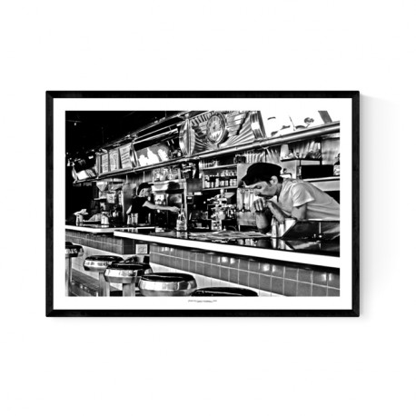 The Empire Diner Poster