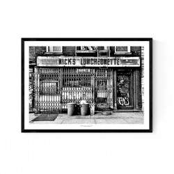 Nicks Luncheonette Poster
