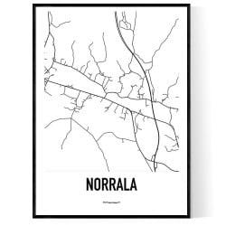 Norrala Karta