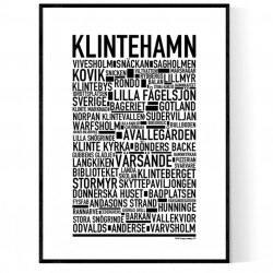 Klintehamn Poster