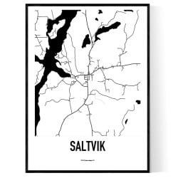 Saltvik Karta