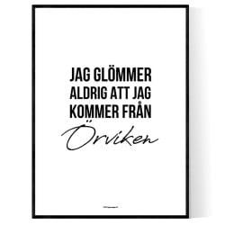 Från Örviken