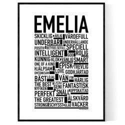 Emelia Poster