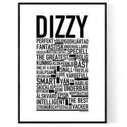 Dizzy Poster