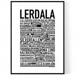 Lerdala Poster