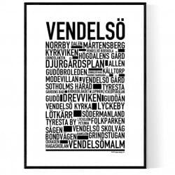 Vendelsö Poster