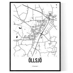 Öllsjö Karta