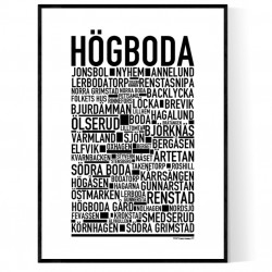 Högboda Poster